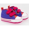Converse - All Star Crib Trainers, First Star Periwinkle
