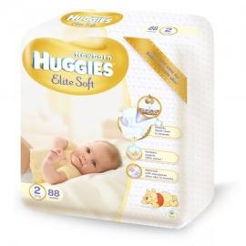 Huggies - Scutece Elite Soft 2, 4–7 kg, 88 buc