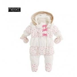 Next - Salopeta iarna bebelusi PinkBows