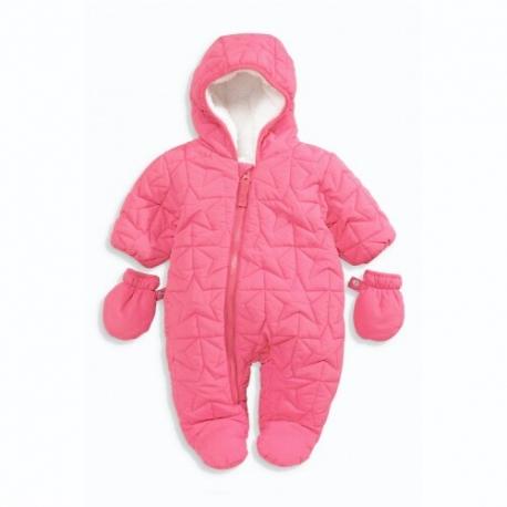 Next - Combinezon iarna bebelusi Starred, Pink