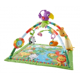 Fisher Price - Saltea Activitati Rainforest Deluxe Gym