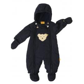 Steiff - Combinezon bebelusi iarna Snowsuit, Bleumarin