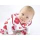 Grobag Pretty Petals Sac de Dormit Bebelusi, 2.5 TOG 0-6 luni