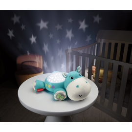 Fisher Price - Lampa proiectii muzicala Hippo