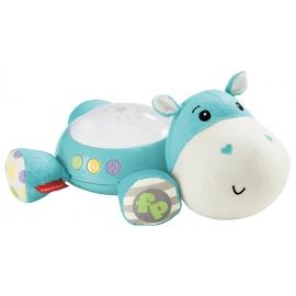 Fisher Price - Lampa cu proiectii si muzica Hippo