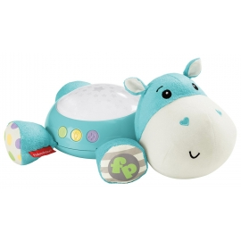 Fisher Price - Lampa proiectii muzicala Hipopotam
