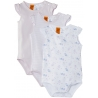 Pumpkin Patch - Flutter Sleeve Bodysuit (set 3 buc)
