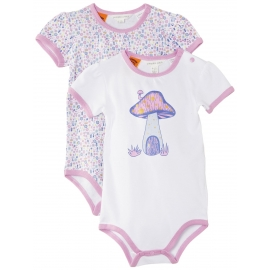 Pumpkin Patch - Set Body Mushroom Bodysuit, 2 buc