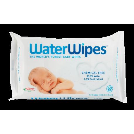 WaterWipes - Servetele umede pentru bebelusi, 60 buc