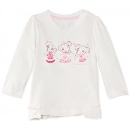 Esprit - Bluza fetite cu maneca lunga Off-White