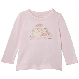 Esprit - Bluza fetite cu maneca lunga Flower Pink