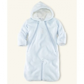 Ralph Lauren - Baby Boys Convertible Ryan Bunting Bag, Pearl Blue