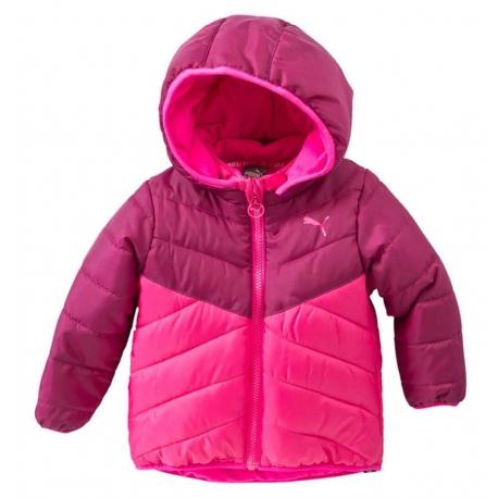 Puma - Geaca Infant Padded Jacket, Fuchsia Purple