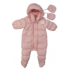 Chateau de Sable - Down Snowsuit, Pale Pink