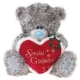 """Me to You - Ursulet Special Girlfriend Heart, Large, 12"""""""