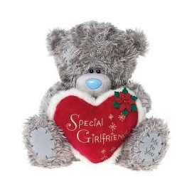 Me to You - Ursulet Special Girlfriend Heart, Large, 12""
