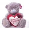 Me to You - Ursulet Tatty Teddy Gorgeous Girlfriend Heart, Large, 12""