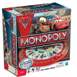 Monopoly - Junior Editie Disney Cars 2