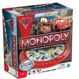 Monopoly pentru copii Editie Disney Cars 2