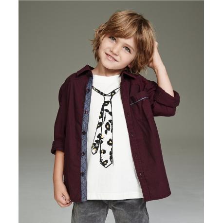 Mothercare - Set tricou si camasa K Chambray