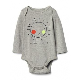 GAP - Body cu maneca lunga, Little Sunshine
