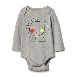 GAP - Body cu maneca lunga, Little Sunshine
