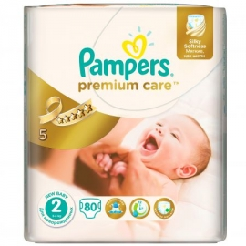Pampers - Scutece Premium Care 2 Mini Value Pack 80 buc