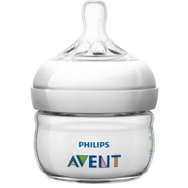 Philips AVENT - Biberon Natural, 60 ml, 0 luni + SCF699/17