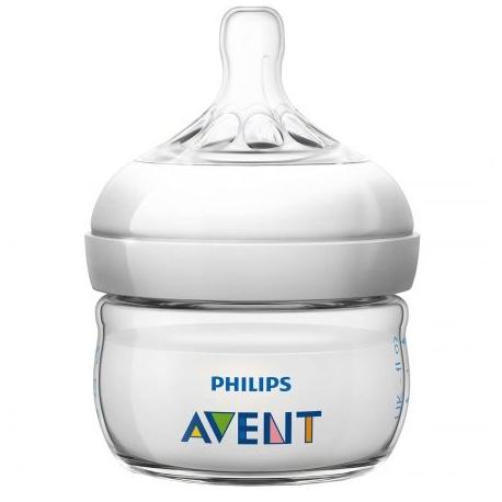 Philips AVENT - SCF699/17 Biberon Natural, 60 ml, 0 luni +