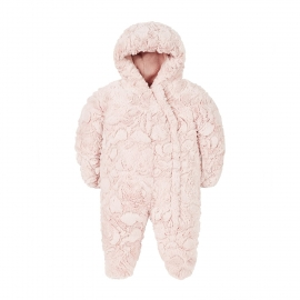 Mothercare - Salopeta Fluffy Snowsuit, Crem