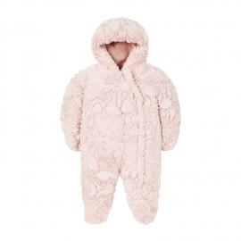 Mothercare - Salopeta Fluffy Snowsuit, Crem