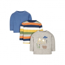 Mothercare - Set Bluze Over the Mountains, 3 buc
