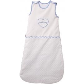 NAF NAF - Sac de dormit Heart Blue, 2.5 TOG