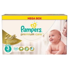 Pampers - Scutece Premium Care 3 Mega Box 120 buc