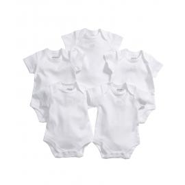 Mamas&Papas - Set Body cu maneca scurta Essential, 5 buc