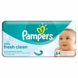 Pampers - Servetele umede Baby Fresh 64 buc