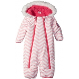 U.S. POLO ASSN - Salopeta Pink Stripes with Faux Fur