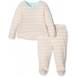 Pumpkin Patch - Set Bluza si Pantaloni Sunset Stipe