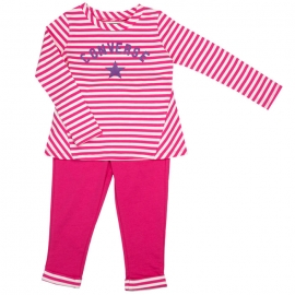 Converse - All Star Infant Set Bluza si Pantaloni, Pk Paper