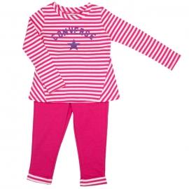 Converse - All Star Infant Set Bluza si Pantaloni, Pk Paper