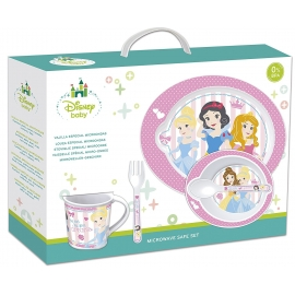 Disney - Set 5 Piese, Microwavable Set Disney Princess Baby