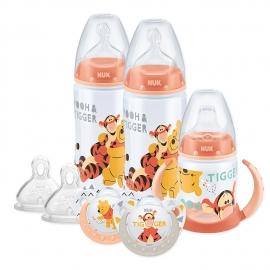 NUK - Set Disney Biberon, Canita si Suzeta Winnie the Pooh