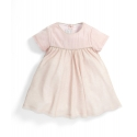 Mamas&Papas - Rochita Velvet & Silk Tulle Dress