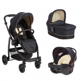 Graco - Carucior Evo II 3 in 1, Navy Sand