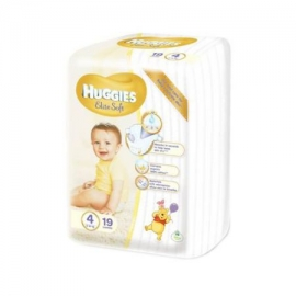 Huggies - Scutece Elite Soft 4, 8-14 kg, 19 buc