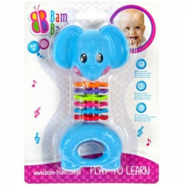 Bambam - Jucarie Dentitie Zornaitoare Elefant