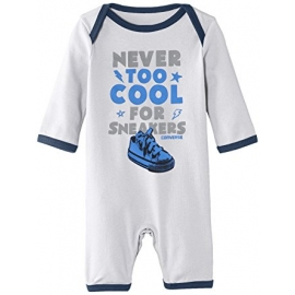 Converse - All Star Infant Body All-in-one, Alb/Bleu