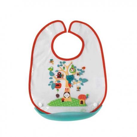 Bebe Confort - Baveta plastic cu buzunar detasabil
