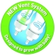 Dr Brown's - Starter Kit Biberoane Options Anti Colici cu Gat Larg si Tetine 1, 2 si 3