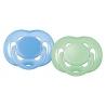 Philips Avent - Suzeta freeflow, 6 - 18 luni, verde albastru
